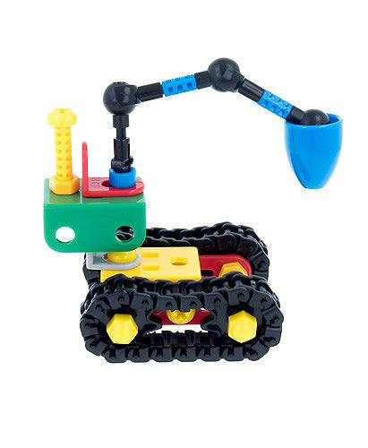 Juguete Armable Tractor Taladro de Colores Eitech - Xoppal.com