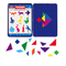 Tangrams Magnetic Tin Set - Xoppal.com