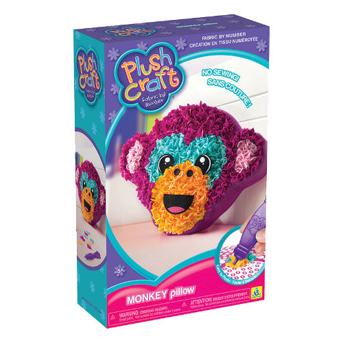 Almohada Plush Craft Monito The Orb Factory - Xoppal.com