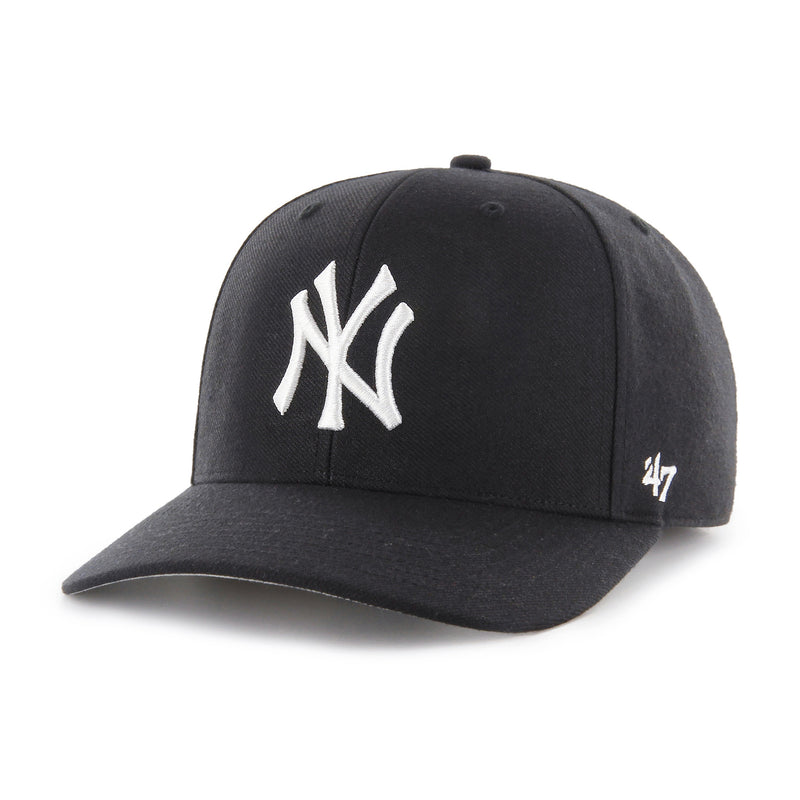 Gorra New York Yankees White & Black 47 MVP DP Wool - Xoppal.com