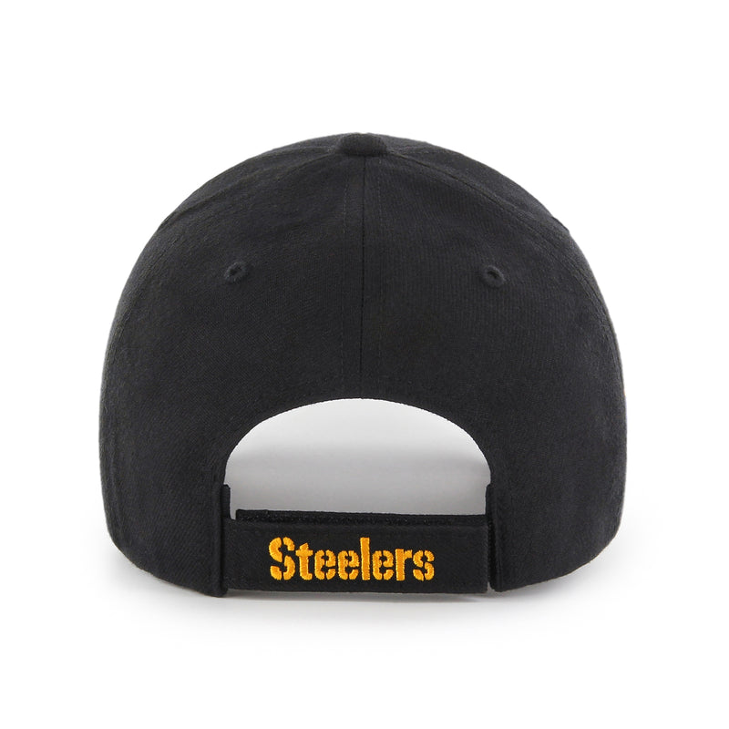 Gorra Pittsburgh Steelers Black 47 MVP Wool - Xoppal.com