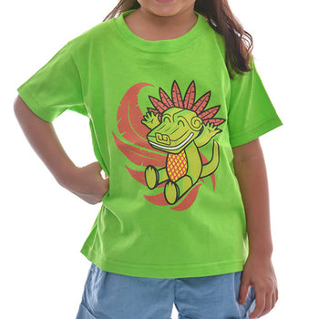 playera quetzalcoatl bebes color verde