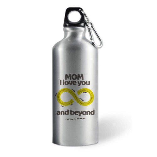 "Termo Deportivo con Frase ""And Beyond"" - Xoppal.com"