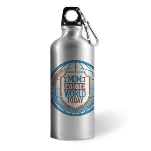 "Termo Deportivo con Frase ""Mom Saved The World Today"" - Xoppal.com"