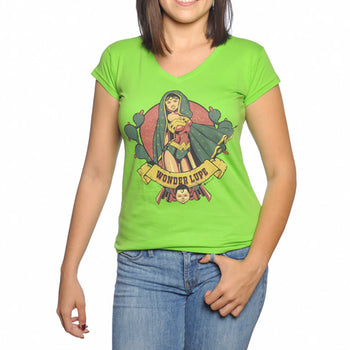 xoppal playeras wonder lupe color verde
