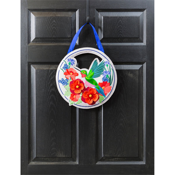 Hummingbird Meadow Door Hanger