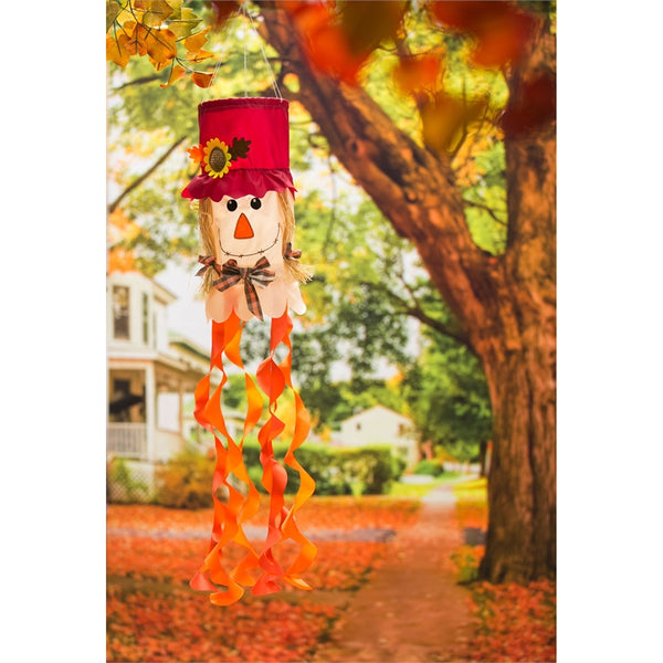 Mrs. Scarecrow 3D Windsock