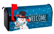 Snowman Welcome Mailbox Cover