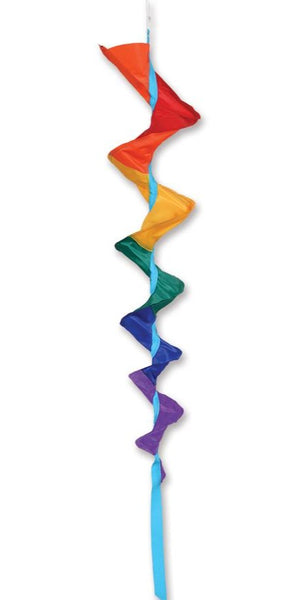 Rainbow Fusilli Spinning Windsock