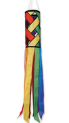 "43"" Rainbow Lattice Windsock"