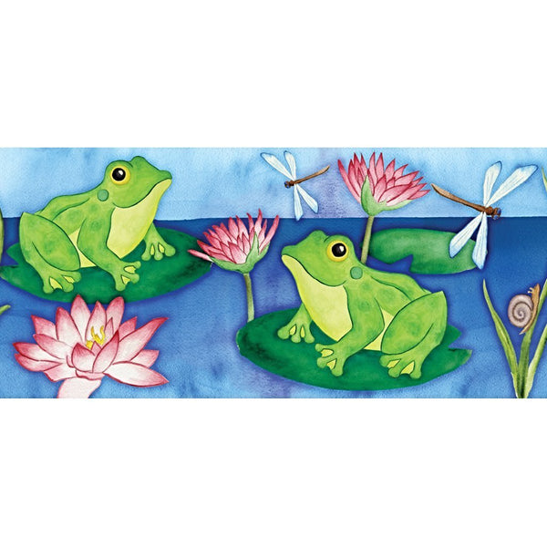 Lotus Frog Windsock