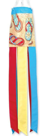 "Flip Flops in the Sand 28"" Windsock"