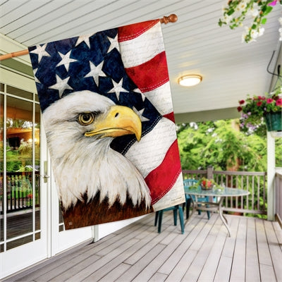 American Eagle House Flag