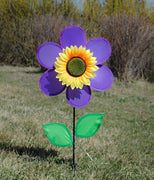 "12"" Purple Sunflower Spinner"