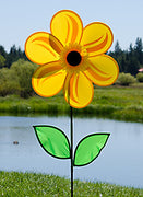 "19"" Yellow Sunflower Spinner"