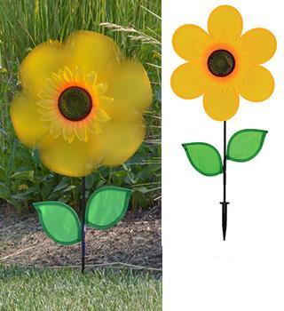 "12"" Yellow Sunflower Spinner"