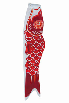 Red Koi Fish Windsock
