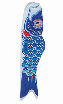 Blue Koi Fish Windsock
