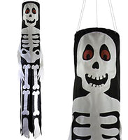 "Lil' Bones Skeleton 40"" Windsock"