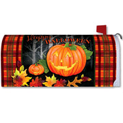 Halloween Jack Mailbox Cover