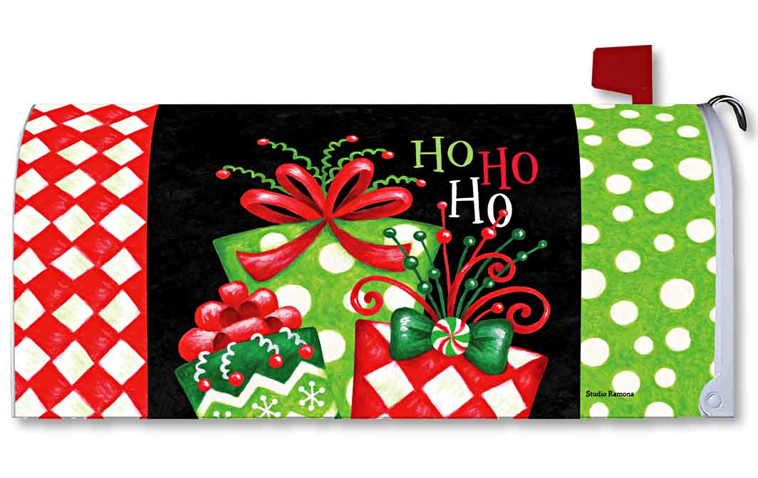 Gifts & Bows Mailbox Cover