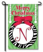 Zebra Ornaments Monogram
