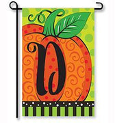 Whimsy Pumpkin Monogram