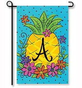 Pineapple Flowers Monogram