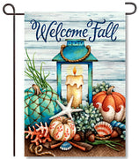 Coastal Fall Garden Flag
