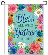 Bless & Gather Garden Flag