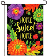 Home Sweet Flowers Garden Flag