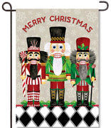 Nutcrackers Garden Flag