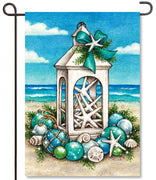 Coastal Christmas Garden Flag