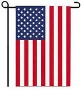 Stars & Stripes Garden Flag (USA)