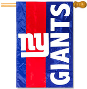 New York Giants Applique House Flag