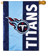 Tennessee Titans Applique House Flag