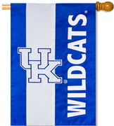 University of Kentucky Applique House Flag