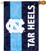 University of North Carolina Applique House Flag
