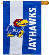 University of Kansas Applique House Flag