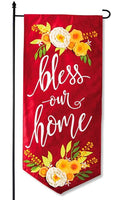 Bless Our Home Garden Banner