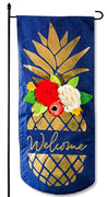 Pineapple Welcome Garden Banner