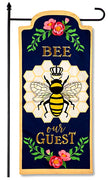 Bee Our Guest Garden Banner