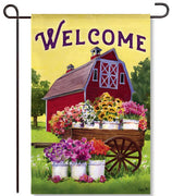 Flower Farm Garden Flag
