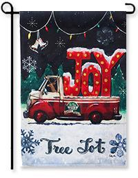 Tree Lot Joy Garden Flag