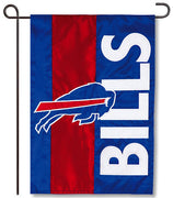 Buffalo Bills Applique Garden Flag