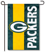 Green Bay Packers Applique Garden Flag