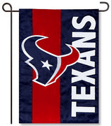Houston Texans Applique Garden Flag