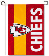 Kansas City Chiefs Applique Garden Flag
