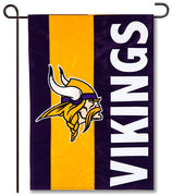 Minnesota Vikings Applique Garden Flag