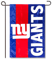New York Giants Applique Garden Flag